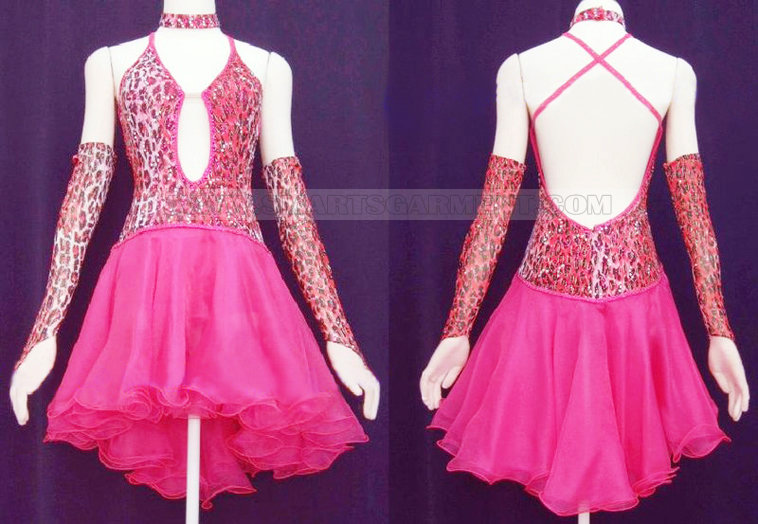 eab93598a7cf retail lady Cha Cha dance dress exporter   Top ballroom dance ...