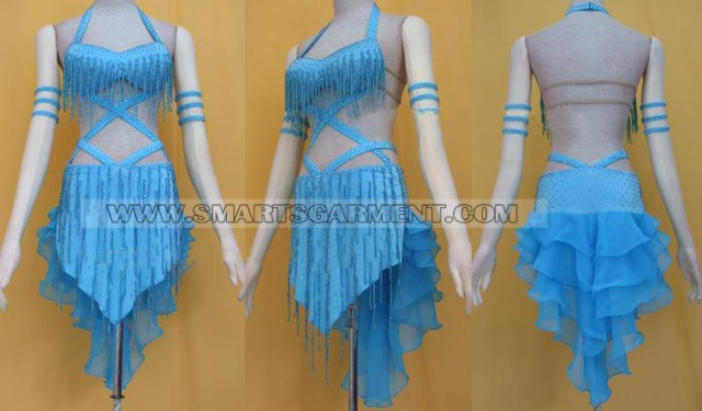 Modern jive dress - Long Mambo Costumes Dance Dress For Dancesport Modern Dance
