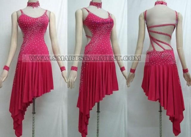 Long modern dance attire dance dress for dancesport modern dance