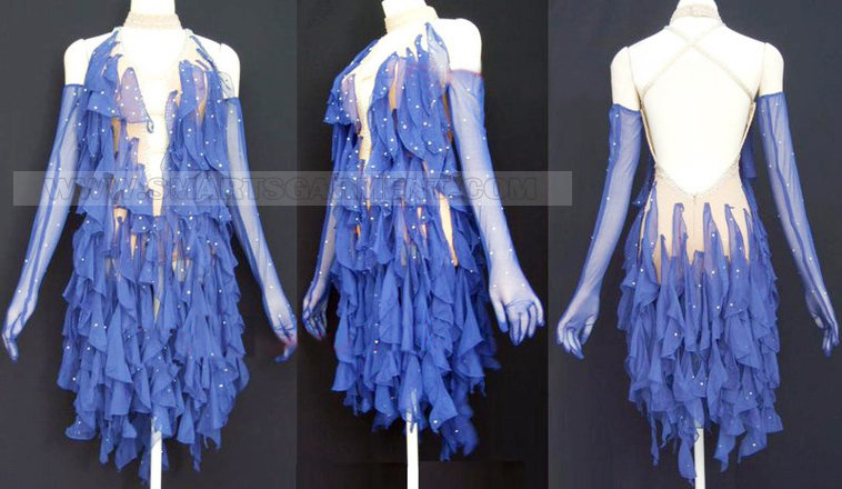 Modern dance costumes for competition dance dress for dancesport