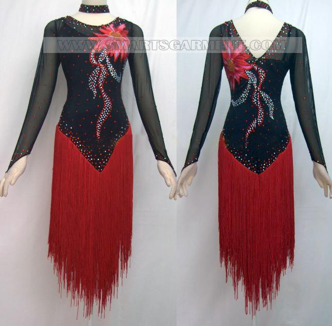 Newest modern dance costumes dance dress for dancesport modern dance