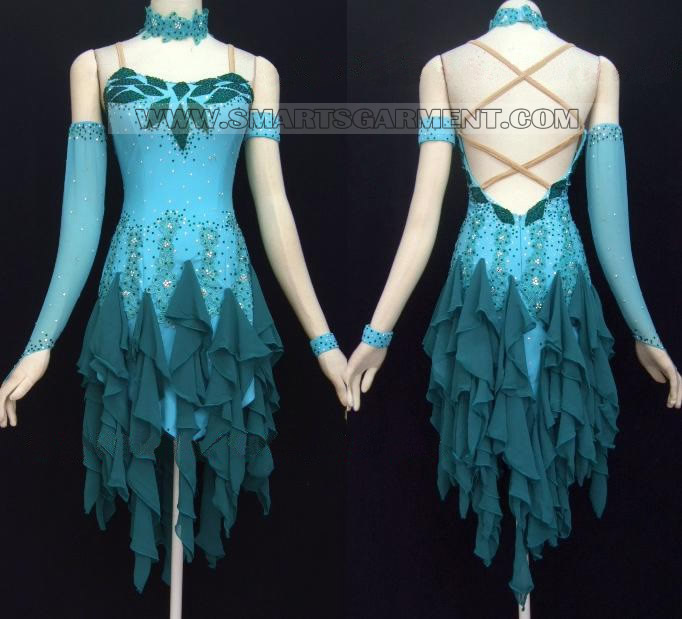 Modern dance dance gown comany dance dress for dancesport modern