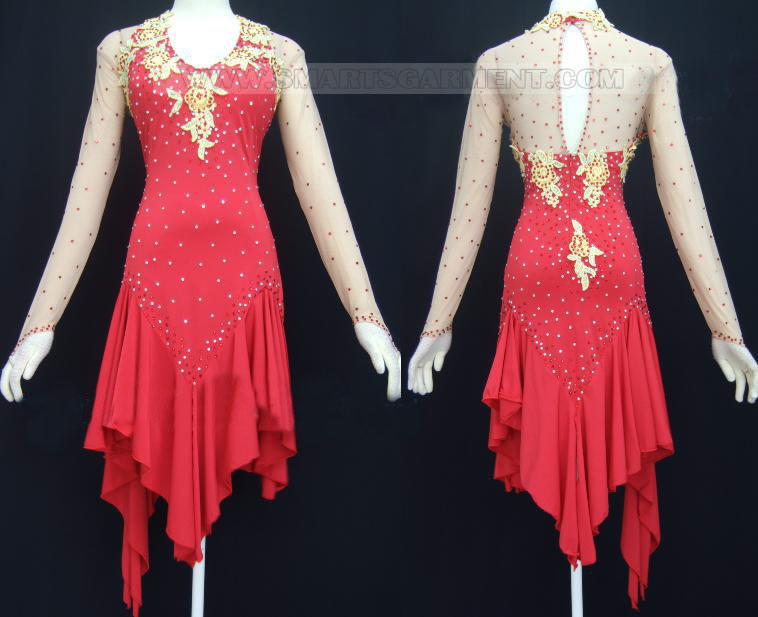 Design Kid Tango Dance Dress Factory Dance Dress For Dancesport